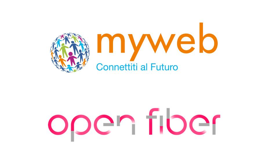 Fibra ottica su rete Open Fiber sevizio erogato da Myweb