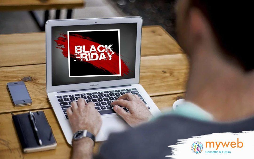 Myweb Black Friday: Attiva la tua linea dati entro il 7 gennaio 2019